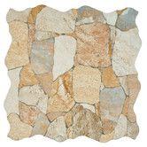 """Found it at Wayfair - Atticas 17.75"""" x 17.75"""" Ceramic Glazed Tile in Beige"""