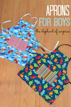 The Elephant of Surprise-Aprons for Boys
