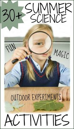 Science Fun for Kids - great round-up of activities - Craft ~ Your ~ Home