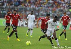 """غانا تهاجم مصر بـ"""" جيان"""" و """"كوادو"""" في مباراة الإياب المؤهلة لمونديال 2014 » بنوته كافيه"""