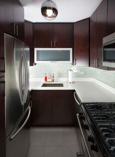 TriBeca NY Residence  Contemporary, clean lined, modern interior, kitchen  New York Interior Designer Jared Epps  www.jaredshermanepps.com
