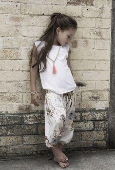 Little Boho Girl
