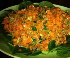 Recipe Spicy Carrot Salad by arwen.thermomix - Recipe of category Side dishes Spicy Recipes, Salad Recipes, Food Dishes, Side Dishes, Dishes Recipes, Low Calorie Smoothies, Spicy Carrots, Carrot Salad, Proper Nutrition