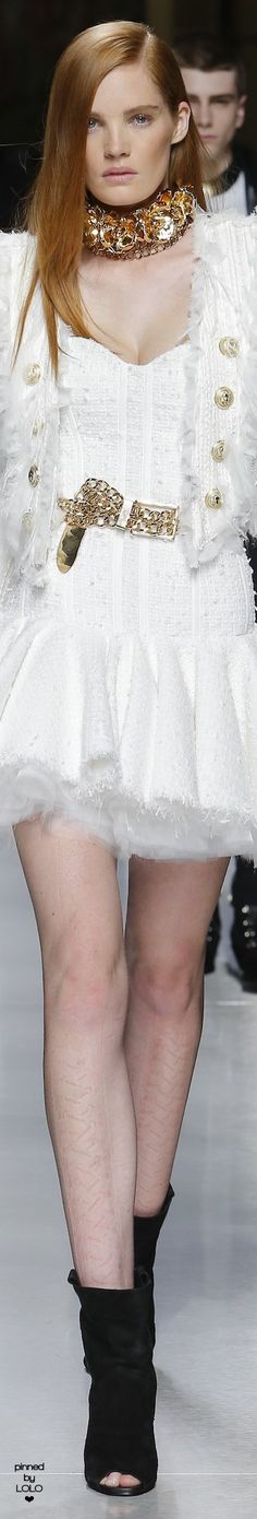Balmain Spring 2018 Menswear