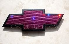 Bling CHEVY Bow Tie EMBLEMS in Your Crystal Color by IcyCouture