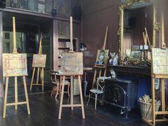 Het nieuwe atelier
