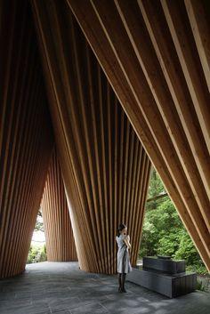 Gallery of Sayama Forest Chapel / Hiroshi Nakamura & NAP - 2