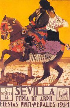 affiche feria 1934