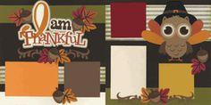 I Am Thankful - Boy Page Kit