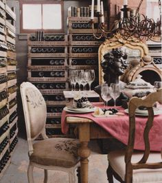 Turn your unfinished basement into a wine cellar