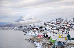 shapesofdreams:  I will miss those little houses Nuuk, Greenland  Oct 2013