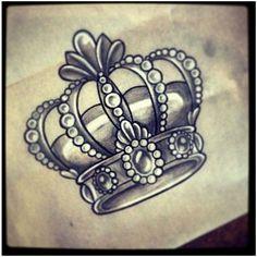 Resultado de imagen para coronas tatuajes rey
