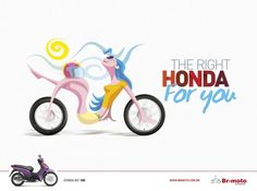 """The right Honda for you""  #honda #advertising"