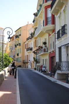 Monte Carlo street - pristine