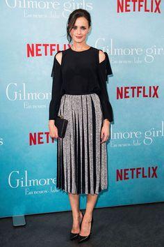 Alexis Bledel in Dion Lee - Gilmore Girls Fan Event, Berlin - November 10 2016