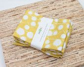 Eco-Friendly Large Cloth Napkins - Set of 4 - (N2520)