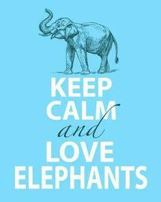 I do love Elephants!
