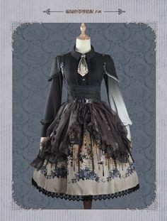 #LolitaUpdate: [-✿-FunCcnio~Winter Rose~ Series-✿-], [-✂-Custom Size Available-✂-] >>> http://www.my-lolita-dress.com/newly-added-lolita-items-this-week/funccnio-winter-rose-series