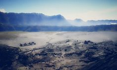 Bromo mountain - view from vertical limit