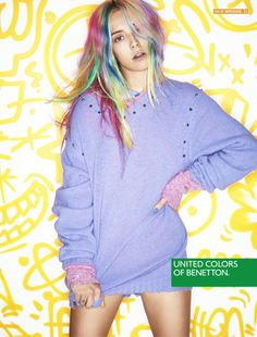 United Colors of Benetton AW13 Campaign - Chloe Norgaard