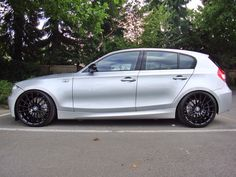 "bmw 130i with 19"" breyton and H&R"