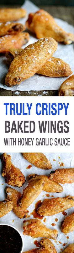 You will be SHOCKED how crispy these are. Super easy to make, a Cook's Illustrated recipe. And lower calories not just because they're baked but also because the fat is rendered out from baking at a low temperature!