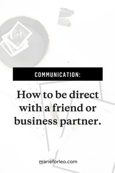 Instead of being passive aggressive, try these communication strategies. #CommunicationStrategies #Confronting #CommunicationIssues #RelationshipIssues #MarieForleo #BusinessPartners #Friendship #Relationships #PersonalDevelopment #Video
