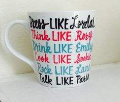 Gilmore Girls mugs to get you ready for the series premiere!