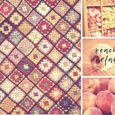"Barefoot Brave on Instagram: ""Granny square tutorials! This one is Peach Parfait."" Granny Square Tutorial, Peach Melba, Parfait, Barefoot, Brave, Raspberry, Tutorials, Red, Instagram"