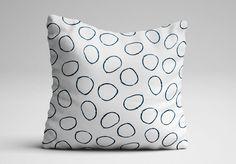 Minimal throw pillow from WEES. weescase.com