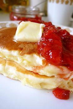 アメリカ☆パンケーキ☆簡単ベーシック by gomacookie [クックパッド] 簡単おいしいみんなのレシピが137万品