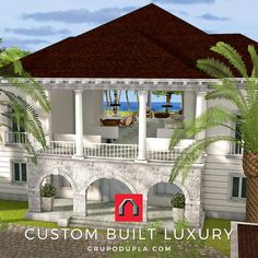Live the luxury Caribbean Lifestyle with a custom built villa by GRUPODUPLA, Dominican Republic's premier Architectural Design Firm & Luxury Construction Company. #luxurycaribbeanlifestyle, #architecture