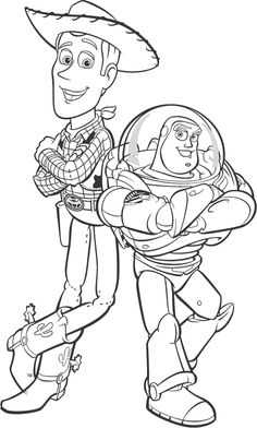 Toy Story Colouring Pages - Disney International colouring pages