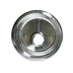 Opella 14177.045 Round Bar/Prep/Entertainment Sink in Polished Stainless Steel