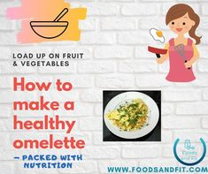Omelettes are an easy and tasty way to fuel yourself. If you learn how to make a healthy omelette, you can nourish your body with lean protein, healthy fats and even increase your intake of fruit and vegetables.  With this guide, you'll uncover the ultimate list of foods for each macronutrient to ensure that you can create a healthy balanced meal that targets protein, healthy fats and carbohydrates.   #FoodsandFit #Eggs #Omelette #Breakfast #MealPrep #Protein #HealthyFood Healthy Desserts, Healthy Fats, Healthy Recipes, Lean Protein, Protein Foods, Healthy Omelette, Low Sugar Diet, Muscle Building Diet, Food Pack
