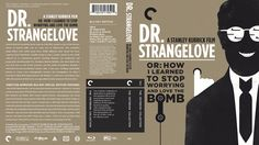 Dr. Strangelove Criterion Collection Blu-ray Custom Cover