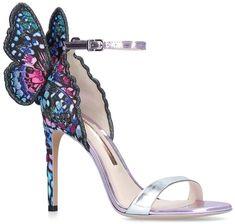 Sophia Webster Chiara, Sophia Webster Shoes, Pretty Shoes, Beautiful Shoes, Runway Fashion, Fashion Shoes, Fashion Trends, Crazy Shoes, Me Too Shoes