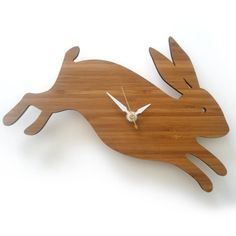 PETER COTTONTAIL~rabbit clock