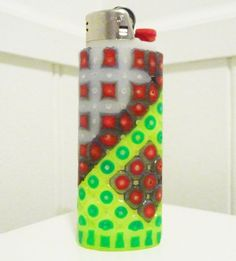 Complex Perler Bead LIGHTER CASE by LighterCases on Etsy, $10.00 ©