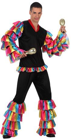 22959fb5d5cd Adult Super Deluxe Calypso Man Costume - Mexican or Spanish ... Cheap Fancy  Dress