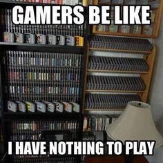 Gamer problem.