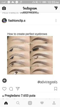Ombre eyebrows routine using ' products Brow wiz in Brunette to outline Dipbrow Pomade in Chocolate to fill in - May 04 2019 at Eyebrow Makeup Tips, Makeup 101, Makeup Goals, Skin Makeup, Makeup Inspo, Makeup Brushes, Beauty Makeup, Easy Makeup Tutorial, Natural Eyebrow Tutorial