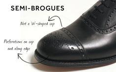 Semi-brogues