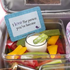 Love Notes to put in a child's lunchbox! Comes in a set of sweet messages.