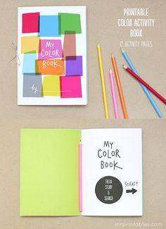 Free printable color book
