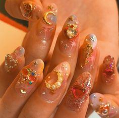 How to choose your fake nails? - My Nails Cute Nails, Pretty Nails, Hair And Nails, My Nails, Bling Nails, Cute Nail Designs, Mellow Yellow, Mani Pedi, Nail Arts