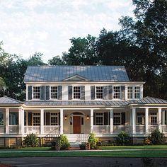 Southern Living Plan No. 481 Carolina Island House 2738 sq ft 4 br 4 ba 1700 sq ft of porch space Designed by Historical Concepts