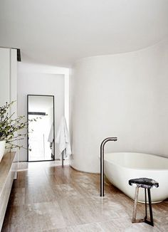 5 Divine Bathrooms With Freestanding Tubs via @domainehome: