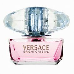 Versace Bright Crystal Perfume for Women 1 oz Eau De Toilette Spray by Versace. $30.00. Versace Bright Crystal Perfume for Women 1 oz Eau De Toilette Spray Inspired by a mixture of Donatella Versace's favorite floral fragrances, Bright Crystal is a fresh, sensual blend of refreshing chilled yuzu and pomegranate mingled with soothing blossoms of peony, magnolia, and lotus flower, warmed with notes of musk and amber. Notes: Iced Accord, Yuzu, Pomegranate, Peony, Magnolia, Lot...