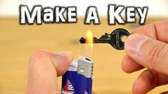 Dave Hax shows how to make an emergency spare key using a lighter, tape and a food can lid. This tutorial shows you how to make a print of an original padlock key, and transfer it onto the lid of a…